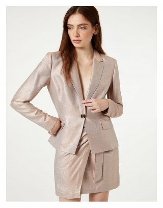 LIU JO - BLAZER IN LUREX