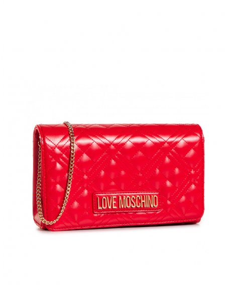 BORSA QUILTED NAPPA PU ROSSO