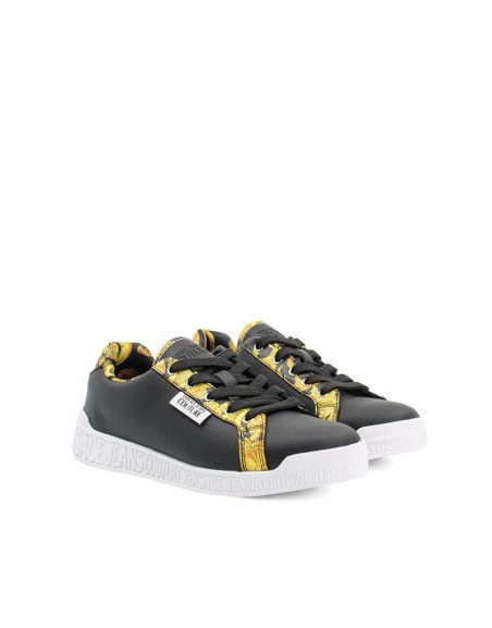 SNEAKERS LEATHER PRINTED