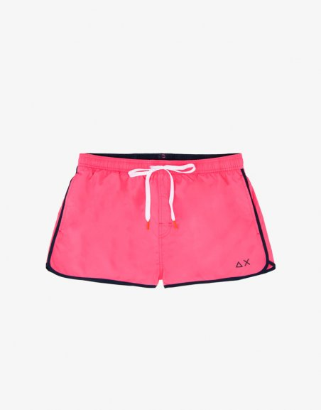 SWIM PANT SOLID BINDING SMALL LOGO
