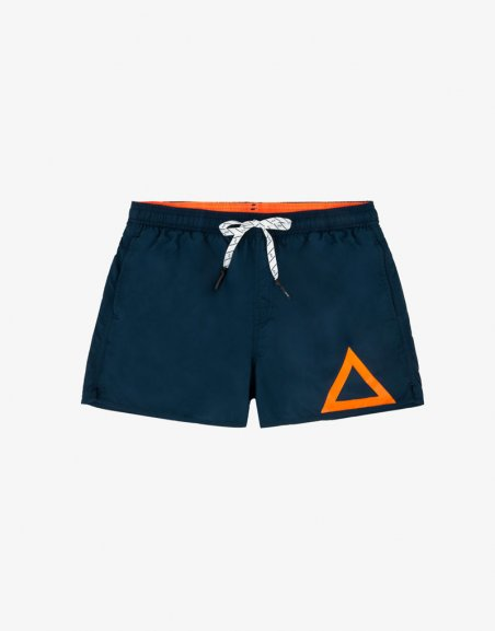 SWIM PANT SOLID BIG LOGO