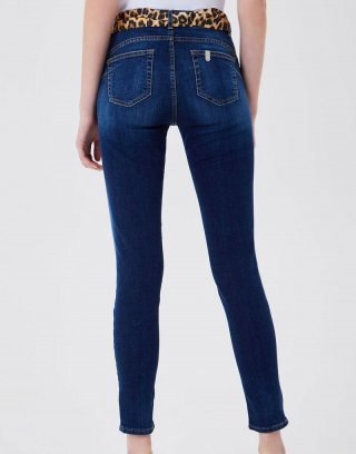 Liu Jo - Jeans skinny a vita alta in denim stretch
