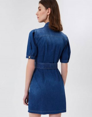 Liu Jo - Vestito corto in denim stretch